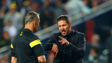 Diego Simeone: Atletico Madrid coach charged by UEFA
