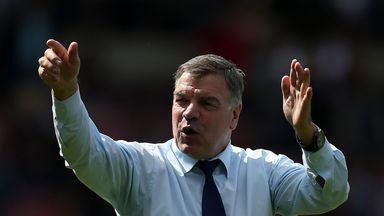 Sam Allardyce's West Ham side are currently fourth in the Premier League table