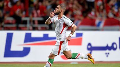 Ashkan Dejagah: Named in Iran squad