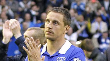 Phil Jagielka: Everton defender returns to action