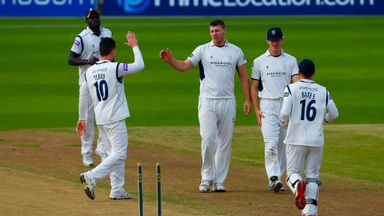 Matt Coles: Hampshire all-rounder hit 83 and claimed 3-24
