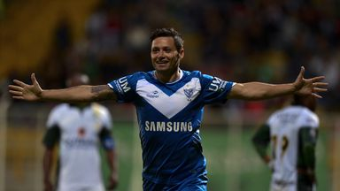 Mauro Zarate: Striker has joined West Ham from Velez Sarsfield