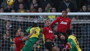 Nemanja Vidic: Has faith in United defenders Jonny Evans and Chris Smalling