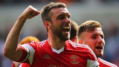 Rickie Lambert: Two seasons in the top flight with Southampton