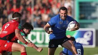 Dave Kearney: The Ireland international returns for Leinster in Italy on Sunday
