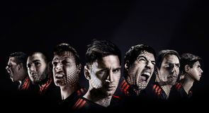 Suarez & Messi launch adidas' Battle Pack