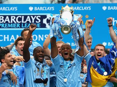 Will you be celebrating like Manchester City?