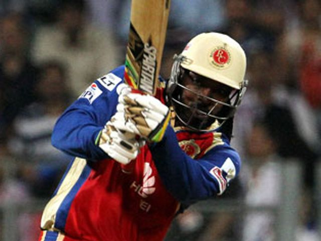 Chris Gayle: Curbed his natural instincts to see Bangalore through