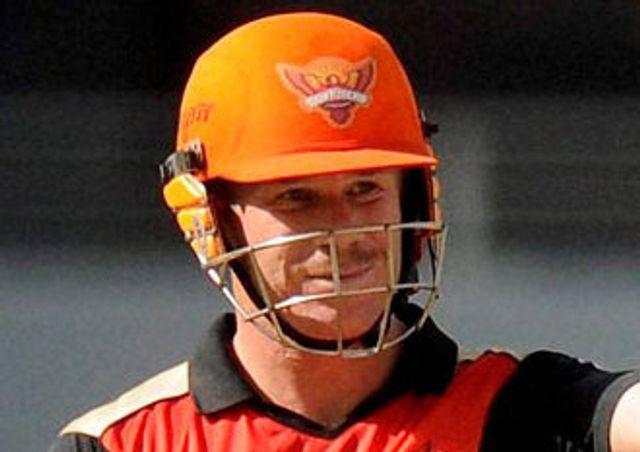 David Warner: Top-scored with 59 for Sunrisers Hyderabad