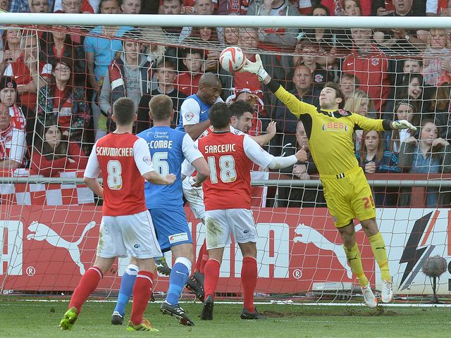 Chris Maxwell: Helped Fleetwood into final