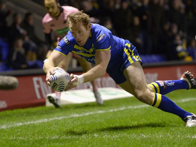 Joel Monaghan: Two tries as Wolves thrashed leaders