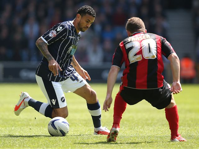 Carlos Edwards in action for Millwall