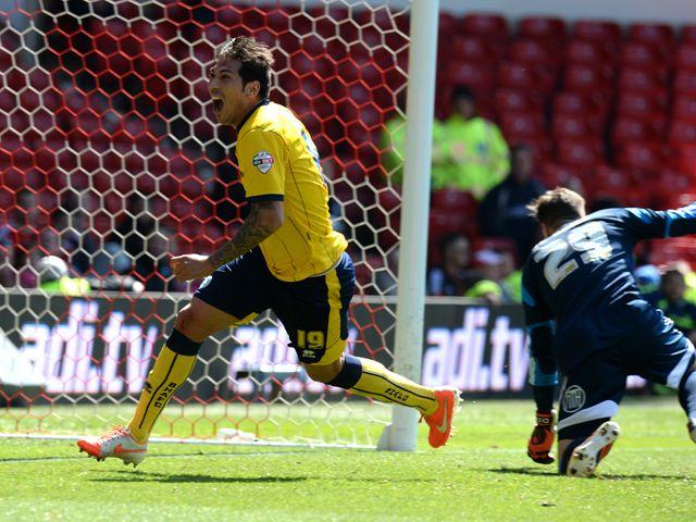 Leonardo Ulloa scored a last-gasp winning goal