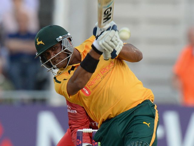 Samit Patel put on another display of big hitting