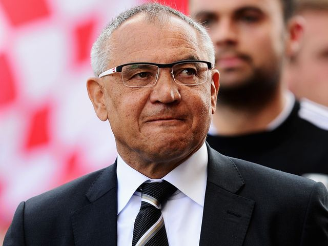 Felix Magath: Suffered a fourth consecutive defeat