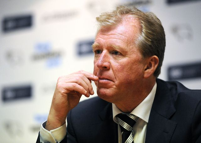 McClaren: Wants to see better finishing from his Derby side