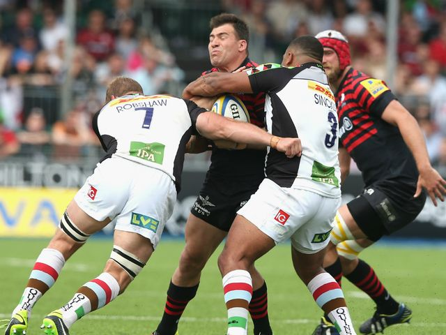 Schalk Brits finds his progress halted