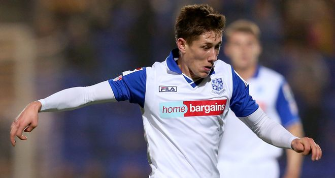 James Rowe: Earns Tranmere a draw