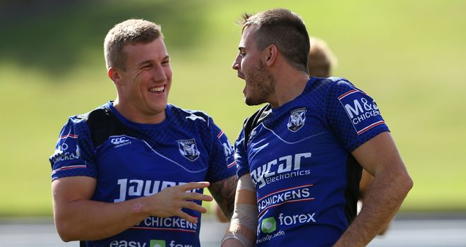 Canterbury Bulldogs halves will also team up for New South Wales