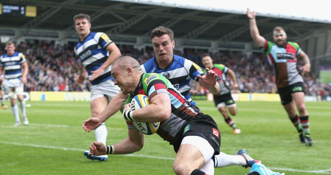 Mike Brown: Harlequins full-back scored early try