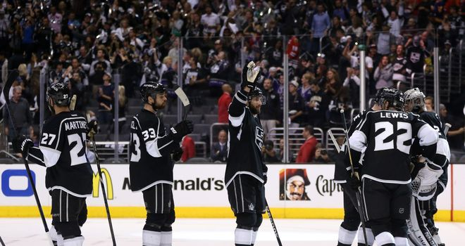 Kings need to win one more game to reach the Stanley Cup finals