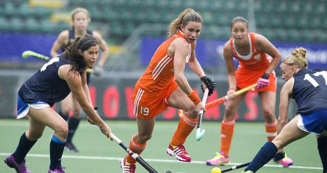 The Netherlands women's team are ranked No.1 in the world