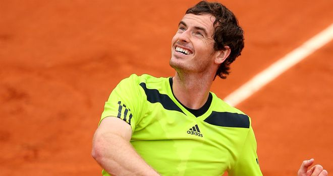 Andy Murray back in action at the French Open