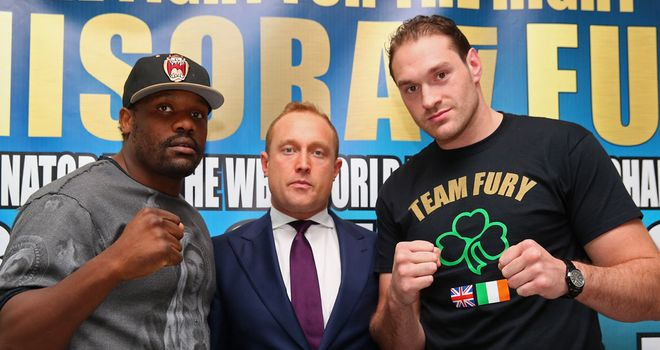 Dereck Chisora and Tyson Fury ready to lock horns