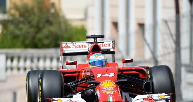 Fernando Alonso: Lines up fifth on the grid in Monaco