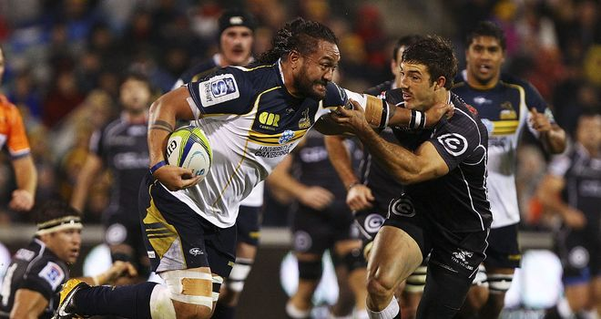 Fotu Auelua: New one-year deal for Brumbies star