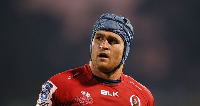 James Horwill: Fined after his outburst at a refereeing decision