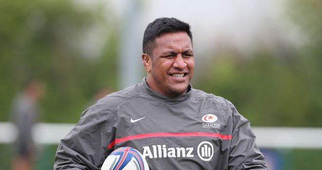 Mako Vunipola: Ruled out of England tour