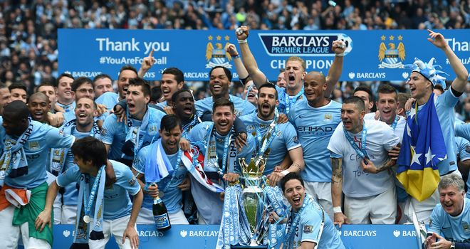 Manchester City were crowned Premier League champions as an exhilarating season drew to a close