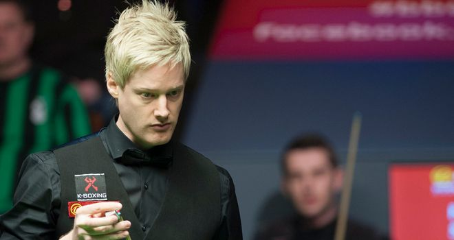 Neil Robertson: through to the last four in China