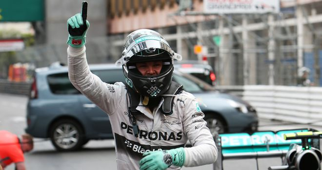 Nico Rosberg: Won in Monaco