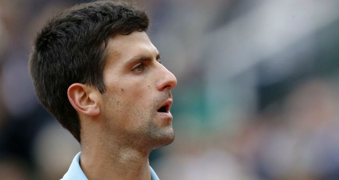 Novak Djokovic: Too good on the day for Frenchman Jeremy Chardy