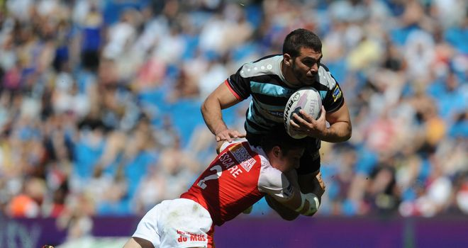 London Broncos: Maxime Herold remains at the club for the rest of the season.