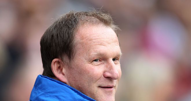 Simon Grayson: Delighted with striker commitment