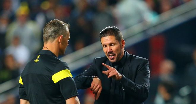 Diego Simeone: Atletico Madrid boss saw time run out on his side