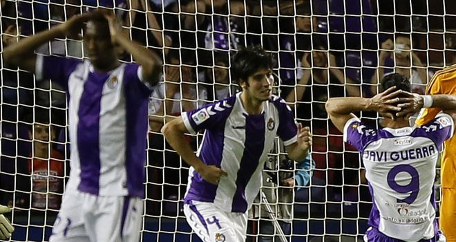 Real Valladolid: Relegated from the Spanish Primera Division