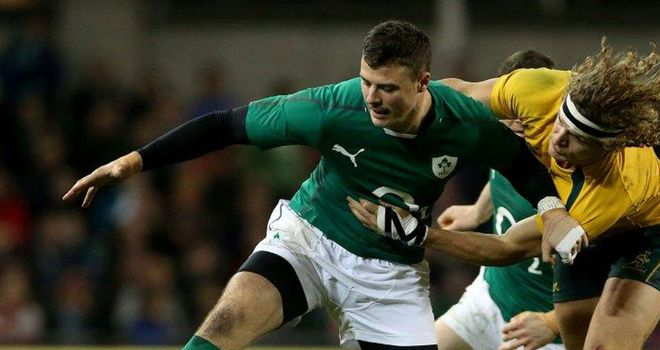 Robbie Henshaw has been sidelined by a hand injury