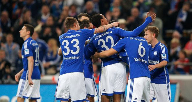 Celebrations for Schalke