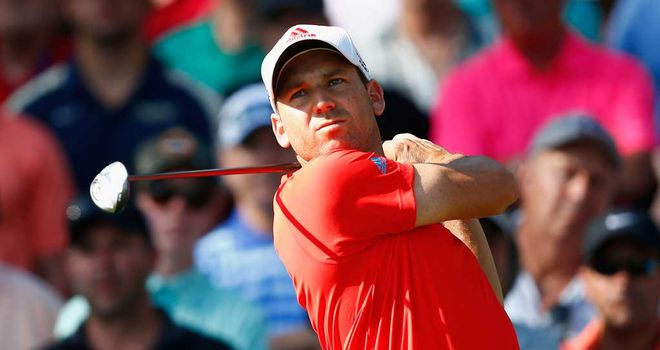 Sergio Garcia: Suffered after bust-up with Woods at Sawgrass last year