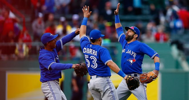 Toronto Blue Jays flying high in the AL East