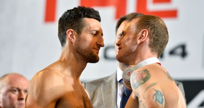 Froch and Groves: The final face-off before fight night