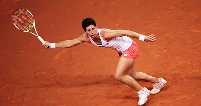 Carla Suarez Navarro: Finally won a WTA title on her sixth attempt