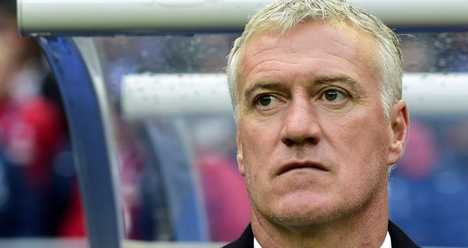 Didier Deschamps: France denied victory by Paraguay