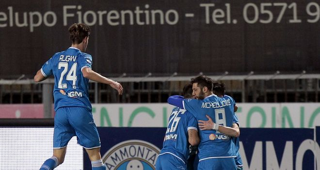 Empoli: Promoted to Serie A after seeing off Pescara