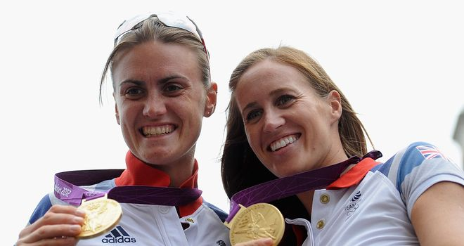 Heather Stanning (L): Will not compete at the European Championships