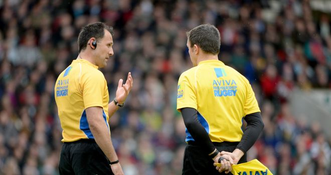 New boss: Former referee Tony Spreadbury has been appointed as the RFU's head of professional game match officials